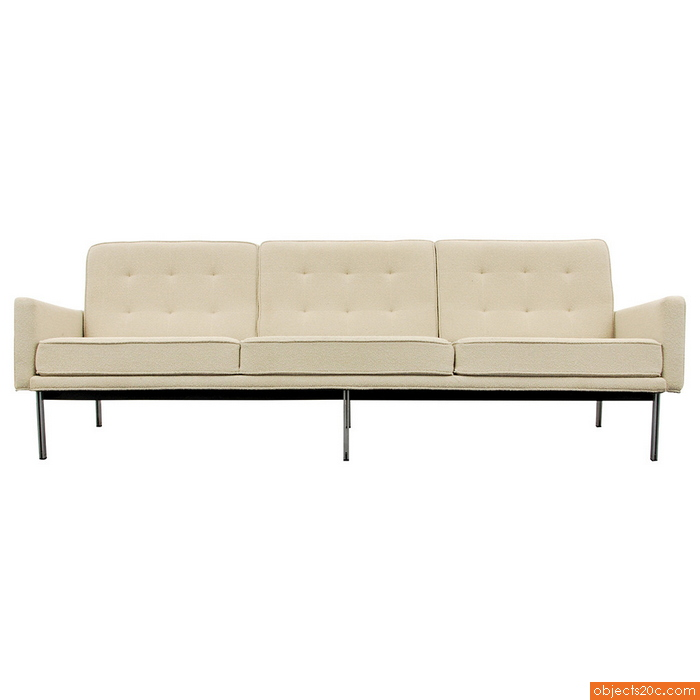 "Early Florence Knoll ""Parallel Bar"" Sofa, 1960"