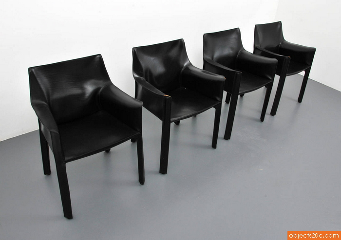 Mario Bellini Leather Chairs for Cassina Acerbis International – Mario Bellini Chair