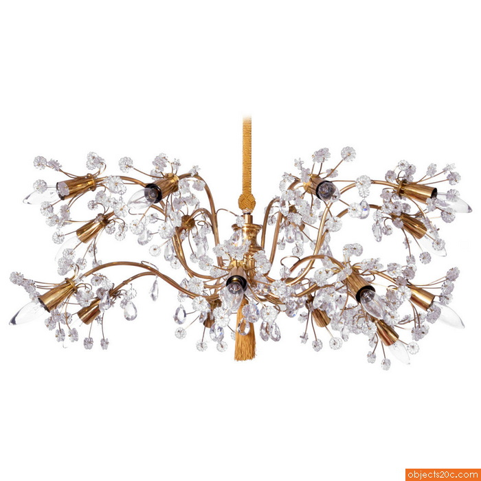 Large Emil Stejnar Multi-Arm Chandelier