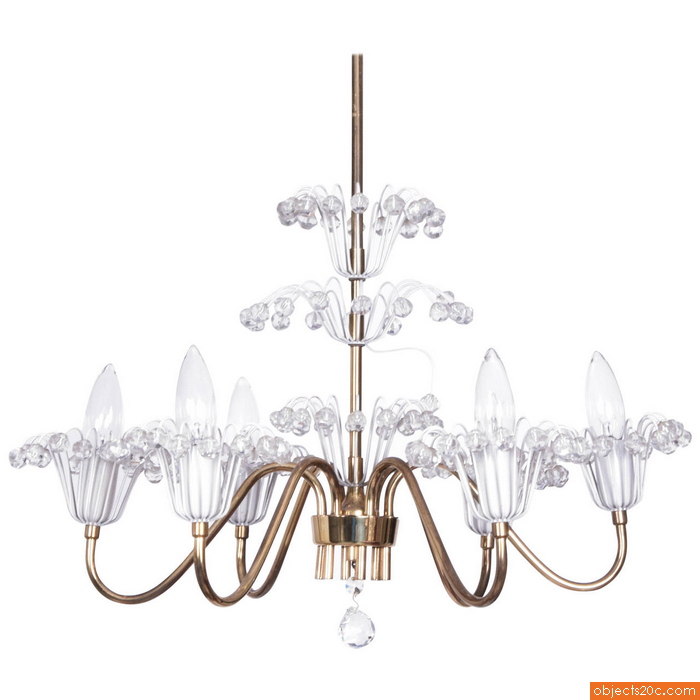"Emil Stejnar ""Fountain"" Chandelier"