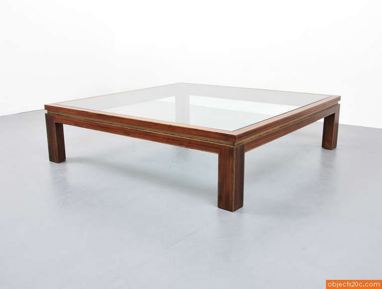 Coffee Table Manner Of Willy Rizzo Objects20c