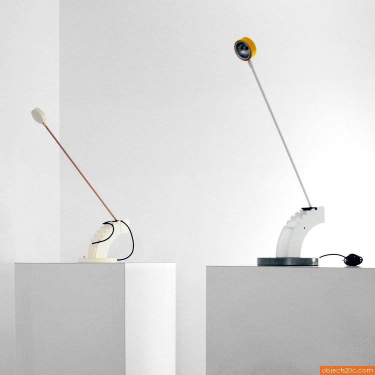 Sbarra Prototype Lamp and Model