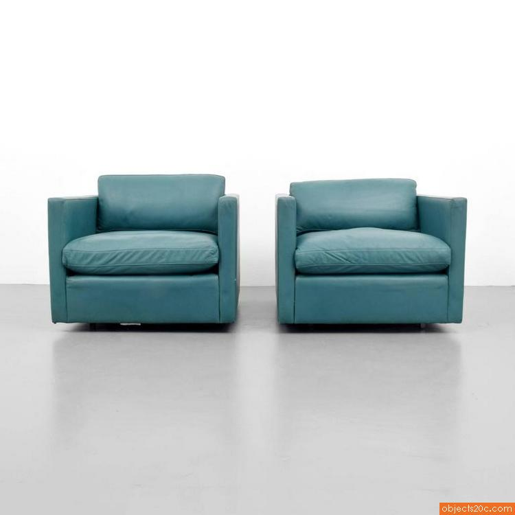 Charles Pfister lounge chairs for Knoll International