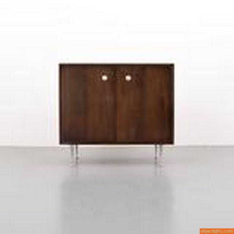 """George Nelson """"Thin Edge"""" Cabinet Circa 1965 (2 Available)"""