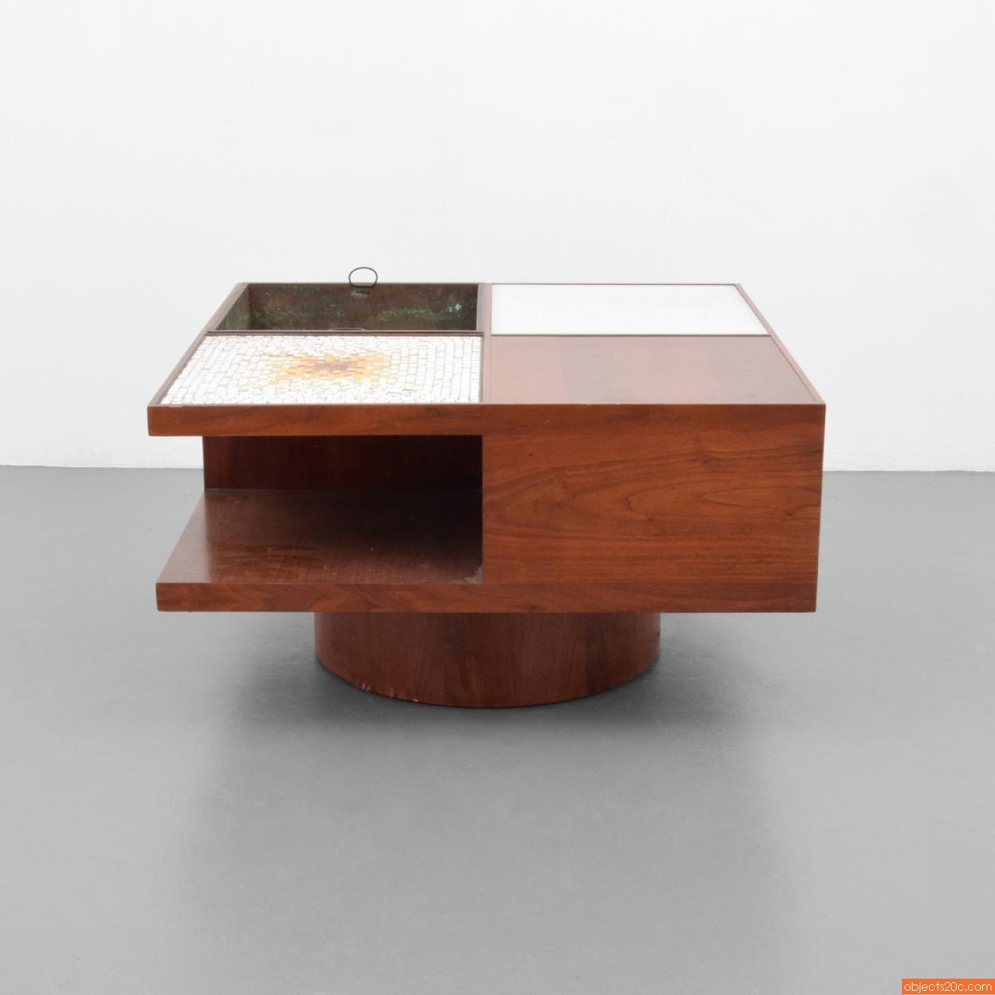 Vladimir Kagan Lighted Coffee Table Model 440 Objects20c Gallery